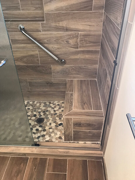 Ahwatukee Bathroom Remodel Shower - After