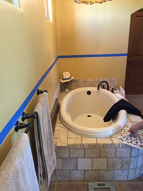 Fountain Hills Master Bathroom Remodel - Before