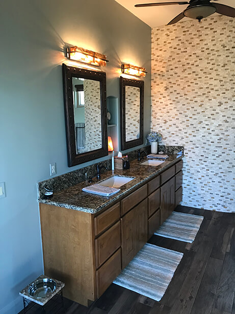 Fountain Hills Master Bathroom Remodel Vanity - After