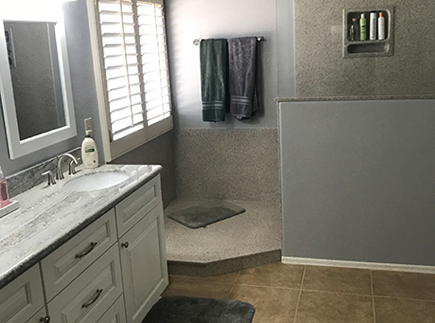 Master Bathroom Gets a Facelift on a Budget
