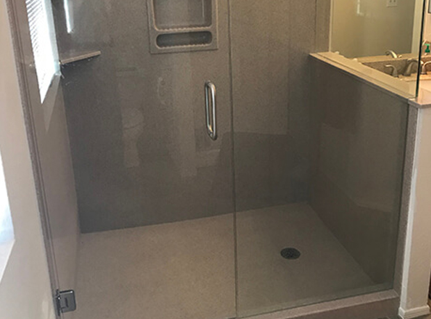 Fountain Hills Master Bathtub To Shower Conversion – 34