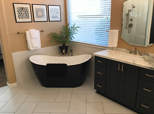 Contemporary Master Bathroom Remodel – 41